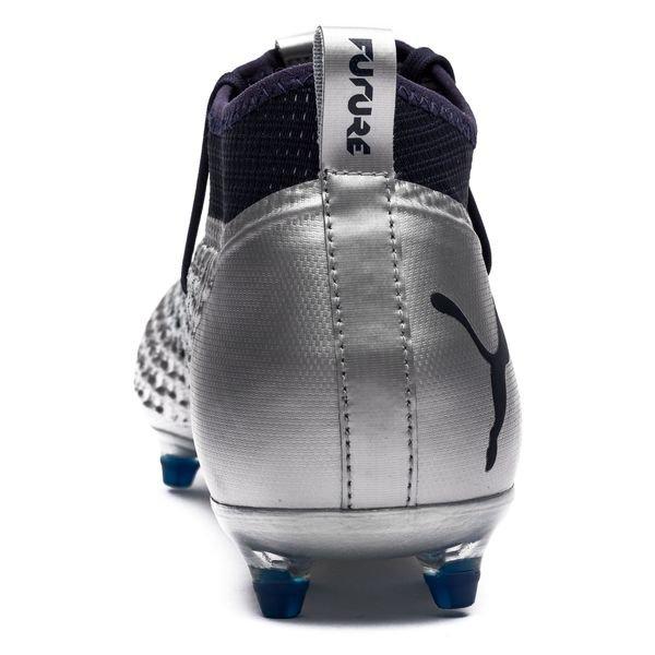 4ad5f0af025 ... puma future 2.2 netfit fg ag stun - puma silver peacoat - football boots  ...
