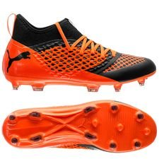 PUMA Future 2.3 Netfit FG/AG Uprising - PUMA Black/Shocking Orange
