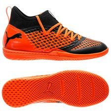 PUMA Future 2.3 Netfit IT Uprising - Sort/Oransje FORHÅNDSBESTILLING