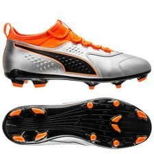PUMA One 3 FG Uprising - Puma Silver/Shocking Orange/PUMA Black PUMA Black