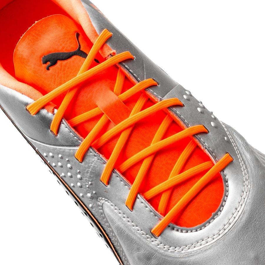 12faacd52acd PUMA One 1 CC FG AG Uprising - Puma Silver Shocking Orange PUMA Black