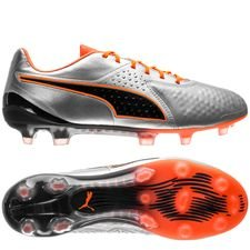 PUMA One 1 CC FG/AG Uprising - Silber/Orange/Schwarz