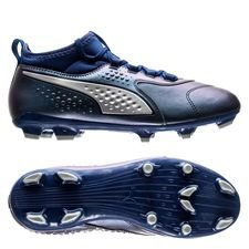 PUMA One 3 FG Stun - Navy/Silber Kinder