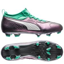 PUMA One 3 FG Illuminate Pack - Lila/Turkos