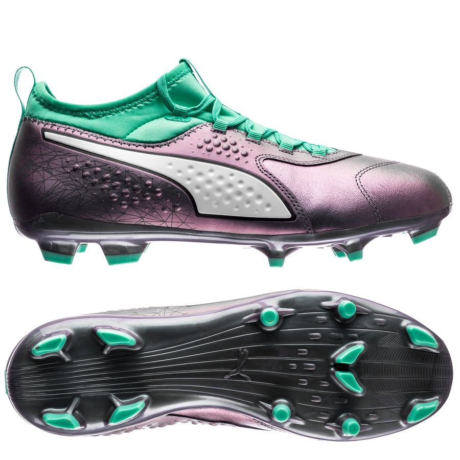 puma one 3 fg illuminate pack - lila turkos - fotbollsskor ... ea7e97db3c8e3