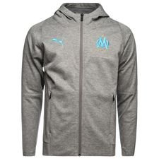 Marseille Hoodie Casual FZ - Medium Grey Heather