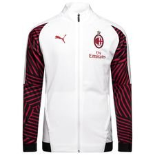 AC Mailand Stadionjacke - Weiß/Rot Kinder