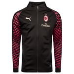 AC Mailand Stadionjacke - Schwarz/Rot Kinder