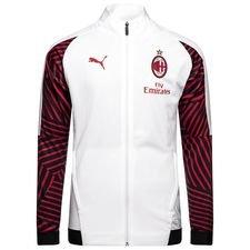 Milan Stadionjacka - Vit/Röd