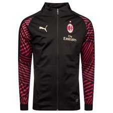 Image of   Milan Stadionjakke - Sort/Rød
