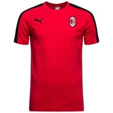 milan t-shirt t7 - rød/sort - t-shirts
