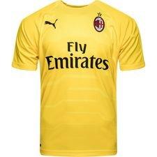 milan keepersshirt 2018/19 geel kinderen - voetbalshirts