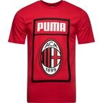 Milan AC T-Shirt Fan - Rouge/Noir
