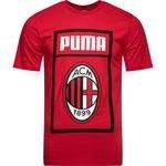 AC Mailand T-Shirt Fan - Rot/Schwarz