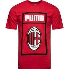 Milan T-Shirt Fan - Chili Pepper/PUMA Black