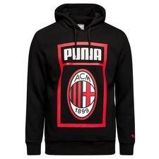 AC Mailand Hoodie - Schwarz/Rot