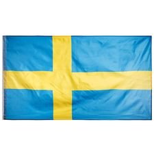 sverige flag 90x155cm - gul/blå - tilbehør