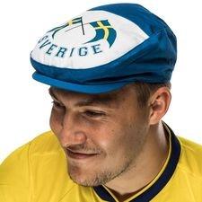sverige sixpence hat - blå/hvid - tilbehør