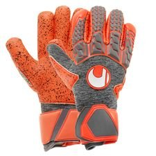 Image of   Uhlsport Målmandshandske AeroRed Supergrip Finger Surround - Grå/Rød