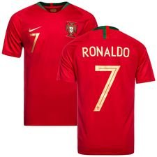 portugal home shirt world cup 2018 ronaldo 7 kids - football shirts