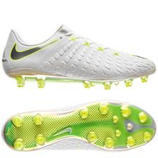 Nike Hypervenom Phantom 3 Elite AG-PRO Just Do It - Hvit/Neon LIMITED EDITION