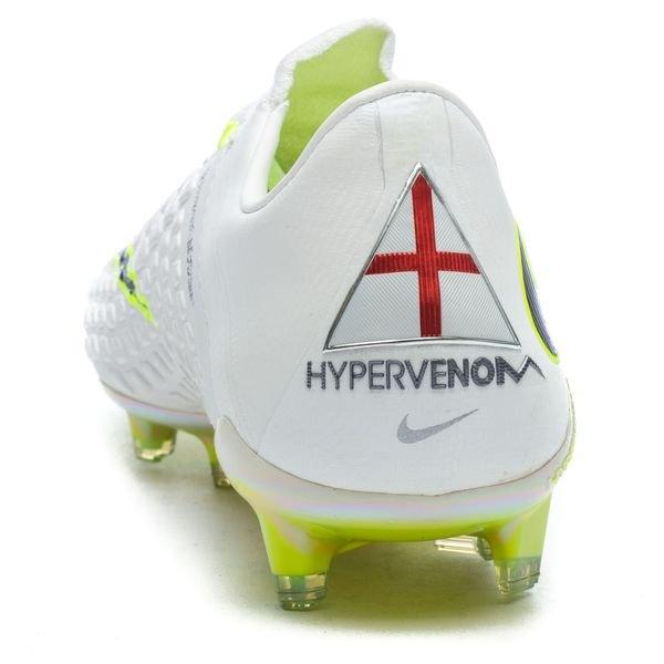 cheap for discount 96b4c 9a40d Nike Hypervenom Phantom 3 Elite DF FG Just Do It - Hvit/Neon LIMITED EDITION