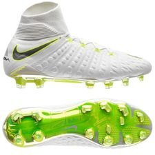 Nike Hypervenom Phantom 3 Elite DF FG Just Do It - White/Volt LIMITED EDITION