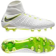 Nike Hypervenom Phantom 3 Elite DF FG Just Do It - Hvit/Neon LIMITED EDITION