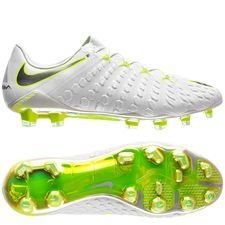 Nike Hypervenom Phantom 3 Elite FG Just Do It - White/Volt LIMITED EDITION