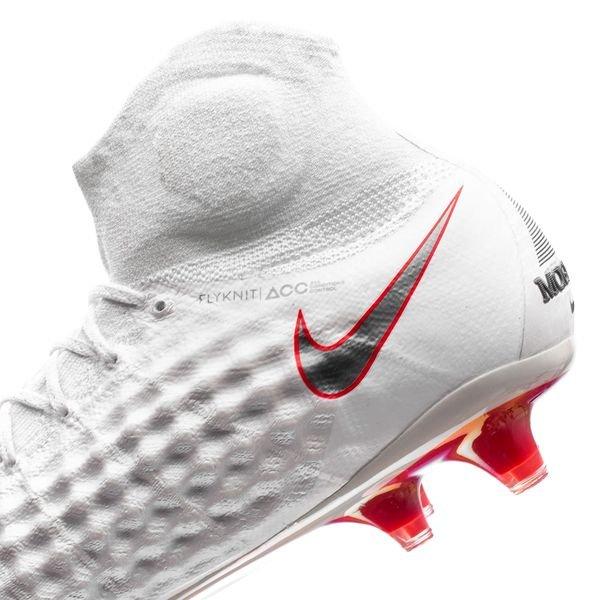 Nike Magista Obra 2 FG Air Max Scarpe da Calcetto Grigio
