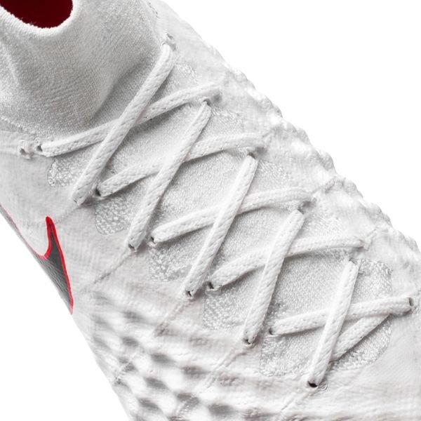 96020a15ae5 Nike Magista Obra 2 Elite DF FG Just Do It - White Lite Crimson LIMITED