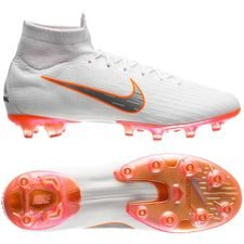 Nike Mercurial Superfly 6 Elite AG-PRO Just Do It - Hvit/Oransje LIMITED EDITION