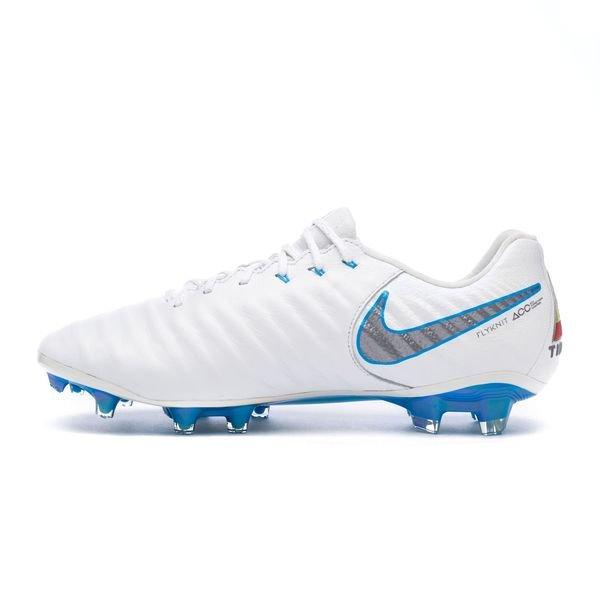 cheaper 8ff5a edefe Nike Tiempo Legend 7 Elite FG Just Do It - White/Blue Hero ...