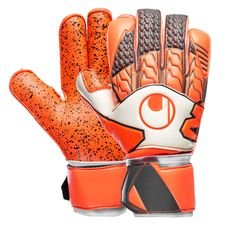 ? Med Supergrip, Uhlsports ypperste latex ? Rollfinger cut ? Med Easy Entry System Sublimt greb og boldkontakt&