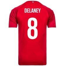 danmark hjemmebanetrøje vm 2018 delaney 8 børn - fodboldtrøjer