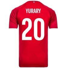 danmark hjemmebanetrøje vm 2018 yurary 20 børn - fodboldtrøjer