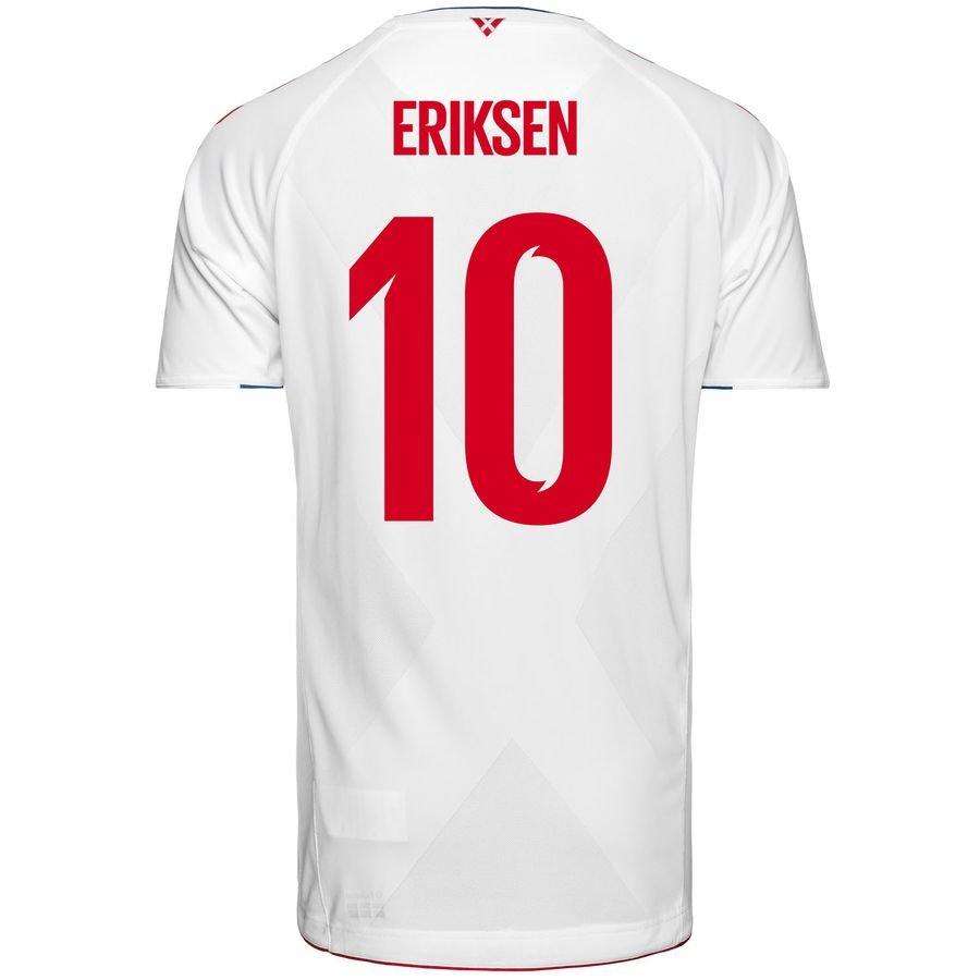 ddc5d41d4cf Denmark Away Shirt World Cup 2018 ERIKSEN 10 Kids | www.unisportstore.com