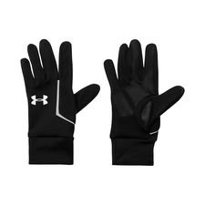 Under Armour Player Gloves Run Liner Storm - Black/Grey