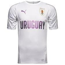 uruguay trænings t-shirt - hvid - træningstrøjer