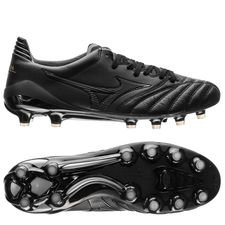 Mizuno Morelia Neo II Made in Japan FG Blackout - Svart/Svart LIMITED EDITION