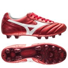 Mizuno Morelia II Made in Japan FG Red Passion Pack - Röd/Vit