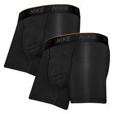 nike brief underbukser 2-pack - sort - undertøj