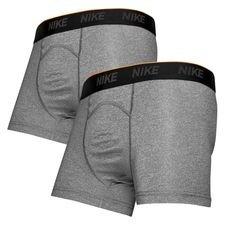 nike brief underbukser 2-pack - grå - undertøj
