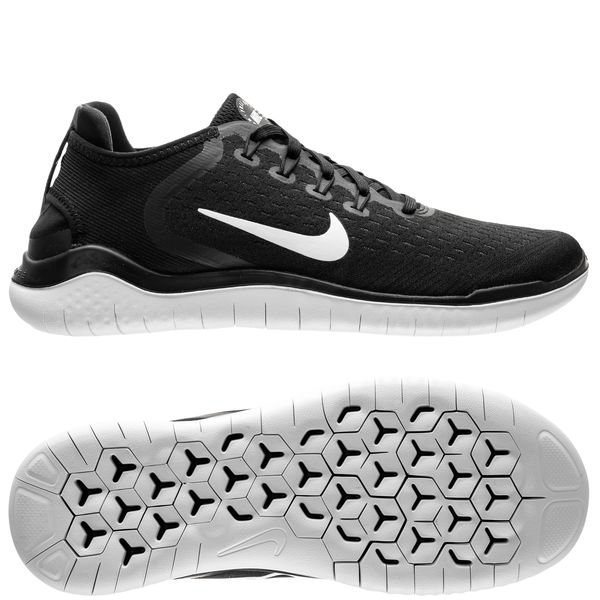 low priced be3df b056e Nike Free RN 2018 - SortHvid Kvinde