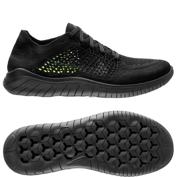 hot sales 08f80 3b4c7 Nike Free RN Flyknit 2018 - Black/Anthracite | www ...