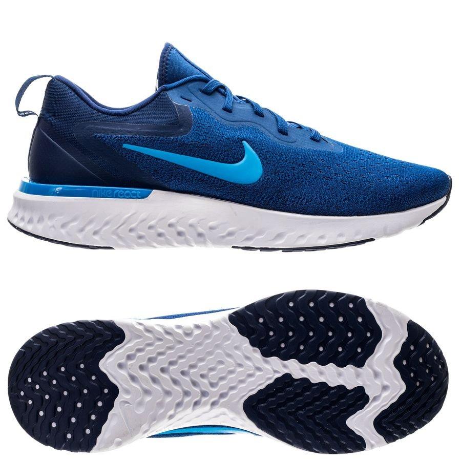 huge discount f1773 22ce2 nike löparskor odyssey react - blåblå - löparskor ...