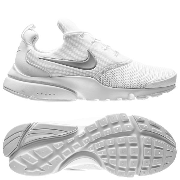 the cheapest classic style detailed look Nike Presto Fly - Weiß/Silber Damen | www.unisportstore.at