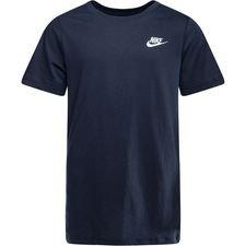 nike t-shirt nsw futura - navy børn - t-shirts