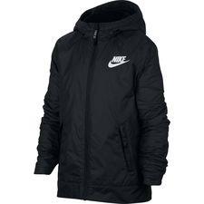 Image of   Nike Jakke NSW Fleece Lined - Sort/Hvid Børn