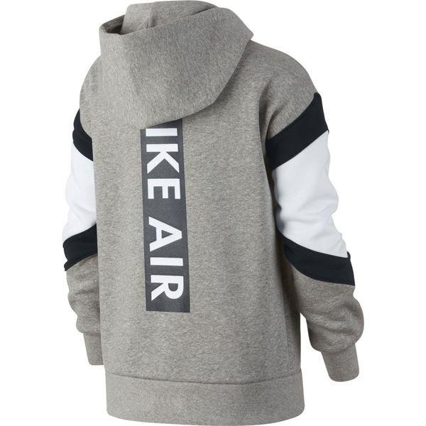 Fleece Veste Enfant Nike À Fz Nsw Grisblancnoir Capuche Air qUABxXw7